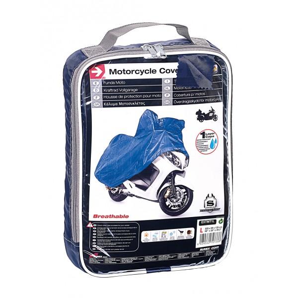 Cover Plus Motorhoes Buiten type Ecolit Maat L 229x99x125cm