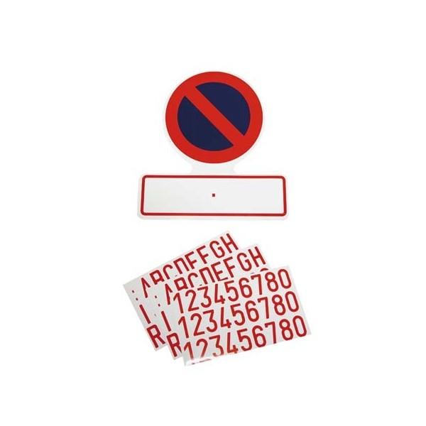 Sticker 'Verboden parkeren'